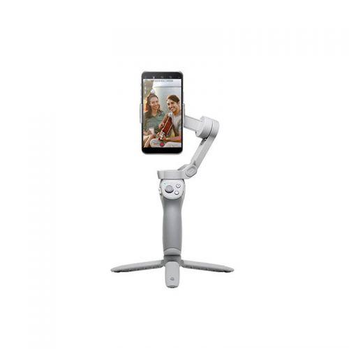 【现货】大疆(DJI)OM 4 SE磁吸手机云台 防抖可折叠手机稳定器 Osmo灵眸手持云台 vlog拍摄(灰色)