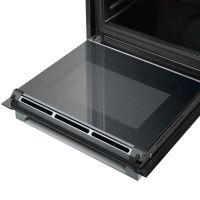 产地德国 进口博世(BOSCH)71L 嵌入式 蒸烤箱 HSG636ES1W(黑色)