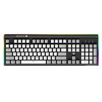 黑峡谷(Hyeku)梦魇武装K735 凯华BOX轴 104键游戏机械键盘 白灰键白轴