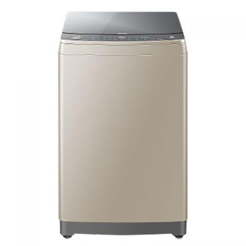 海尔(Haier)10公斤 全自动变频波轮洗衣机 MS100-BZ878U1(香槟金)