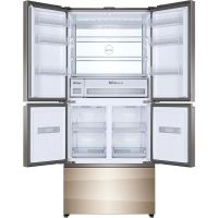 卡萨帝(Casarte) 420升五门冰箱 BCD-420WDCAU1(布伦斯金色)
