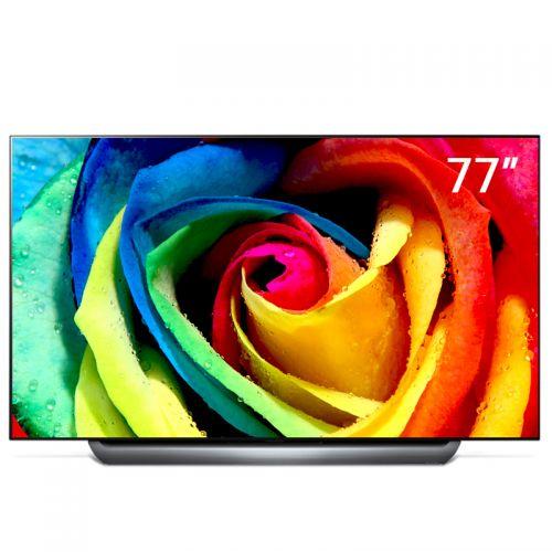 LG 77英寸4K OLED 智能平面电视OLED77C8PCA