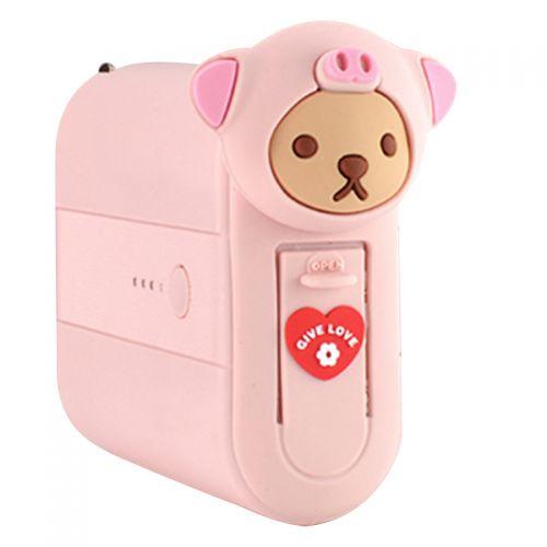 七斗5000mAh充电器&充电宝二合一QA001TD-1(泰迪猪)