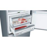 产地土耳其 进口博世(BOSCH)431升 维他保鲜两门冰箱 KGN49PI40C(不锈钢色)