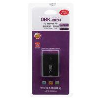 迪比科(DBK)富士微单电池 NP-W126(黑色)适用于富士X100F XE2 XT100等
