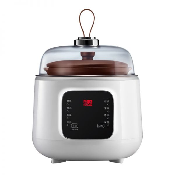 依立(yili)1.5L紫砂电炖锅 隔水电炖盅 家用蒸汽煲 21381SA(白色)12