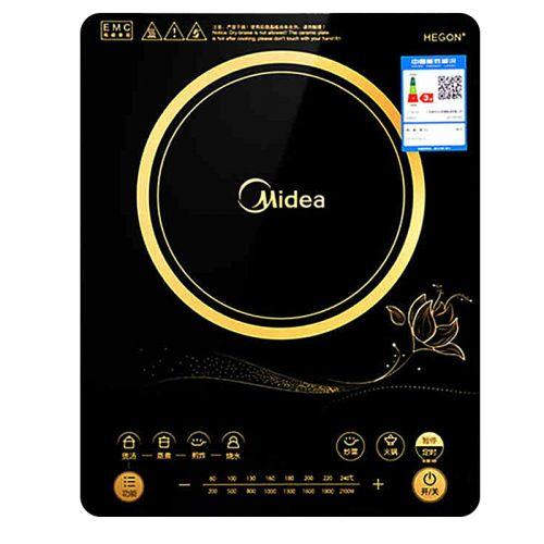 美的(Midea)电磁炉多功能触摸家用RT2169(黑色)