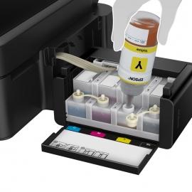 *爱普生(EPSON)L455 墨仓式 智能无线打印机一体机(打印 复印 扫描 云打印 无线直连)【不支持货到付款】