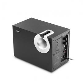 漫步者(EDIFIER) R206P U盘播放 2.1声道 多媒体音箱 (黑色)