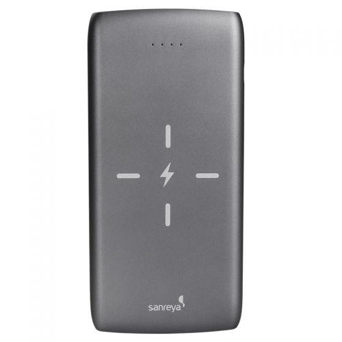 尚睿(Sanreya)无线10000mAh移动电源 ADL01(灰色)【特价商品,非质量问题不退不换,售完即止】【清仓折扣】