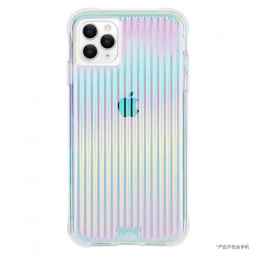 Case Mate iPhone11 Pro Max律动条纹手机壳(透明)
