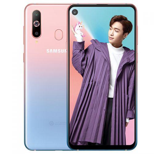 三星(SAMSUNG)A8s 6G+128G 黑瞳全视屏 后置三摄 全网通4G娱乐手机 SM-G8870