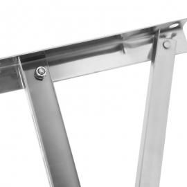 顶牛牌  2-3 匹不锈钢空调支架 (带横杆)