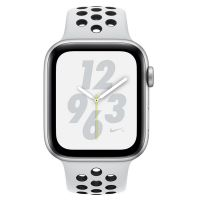 Apple Watch S4 Nike+ 40mm GPS+蜂窝版 MTX62CH/A(银壳黑白运动表带)