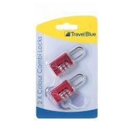 蓝旅(Travel blue)2个彩色数码锁030