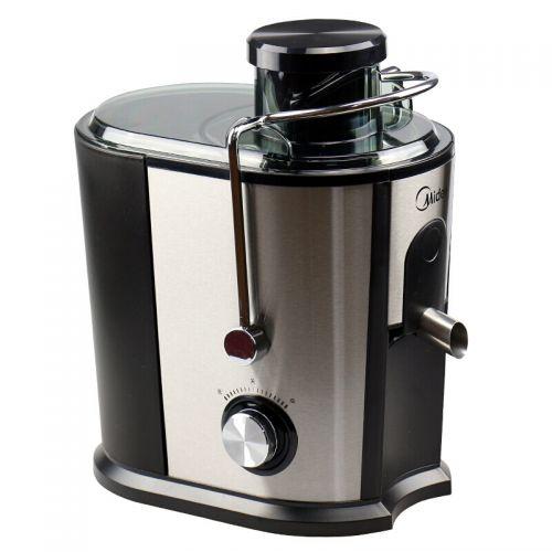 美的(Midea)渣汁分离全自动果汁机 榨汁机 JE40D11(银黑色)