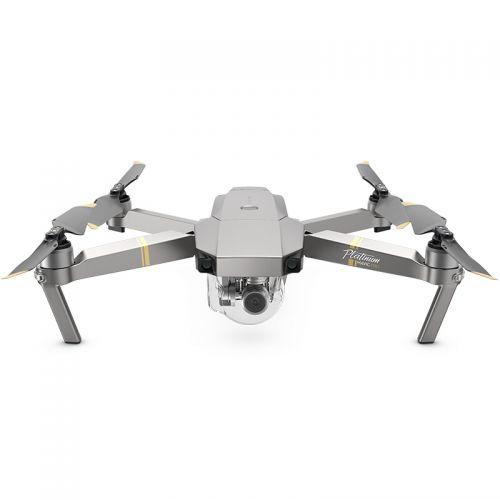 """大疆(DJI)""""御""""Mavic Pro无人机 铂金版 迷你可折叠4K超清航拍无人机 (套装)"""