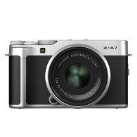 富士(FUJIFILM)微单数码相机X-A7( xc15-45 )银色