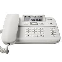 集怡嘉(Gigaset) DA260 电话机 办公家用有绳电话机 (珍珠白)