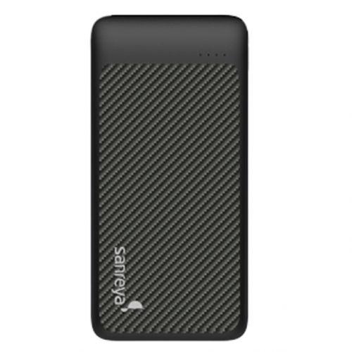 尚睿(Sanreya)10000毫安时双USB口移动电源 SL10(黑色)