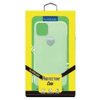 IPearl iPhone11 逸趣立体爱心手机壳6.1英寸(爱心绿)