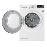 产地韩国 进口LG 9KG 双变频热泵干衣机 RC90U2AV2W(奢华白)