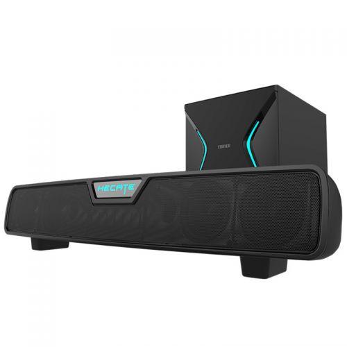 漫步者(EDIFIER)无线低音炮游戏电竞音箱 G7000(黑色)【特价商品,非质量问题不退不换,售完即止】【清仓折扣】