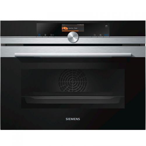产地德国 进口西门子(SIEMENS) 47升  嵌入式蒸汽烤箱CS656GBS1W(黑色)