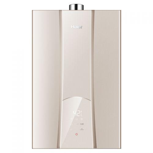 海尔(Haier)16L天然气强排式热水器 JSQ31-16R5BW(香槟金)