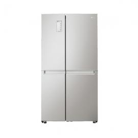 $LG   647升 风冷无霜 智能控温 对开门冰箱GR-B2471PAF (钛灰银)