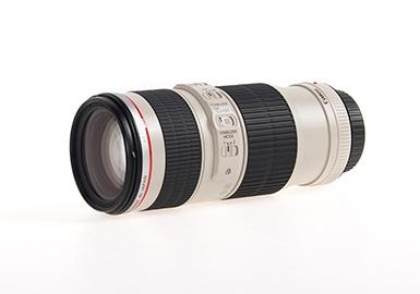 *产地日本 进口佳能(Canon)小小白 远摄变焦镜头EF70-200mm f/4L IS USM