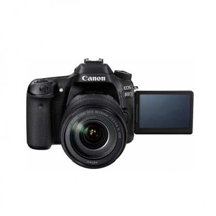 产地日本 进口佳能(Canon)EOS 80D 单反相机套机(EF-S 18-135mm f/3.5-5.6 IS USM镜头)