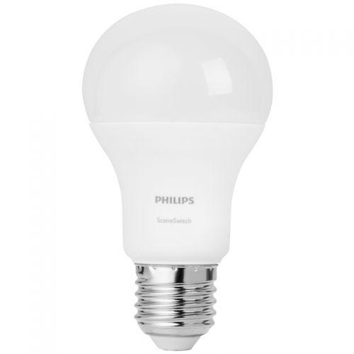 飞利浦(Philips) 9W E27大头黄光智选亮度变换LED球泡