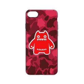 *萌奇  iPhone 7 Plus 魔鬼猫手机壳(炫酷红)