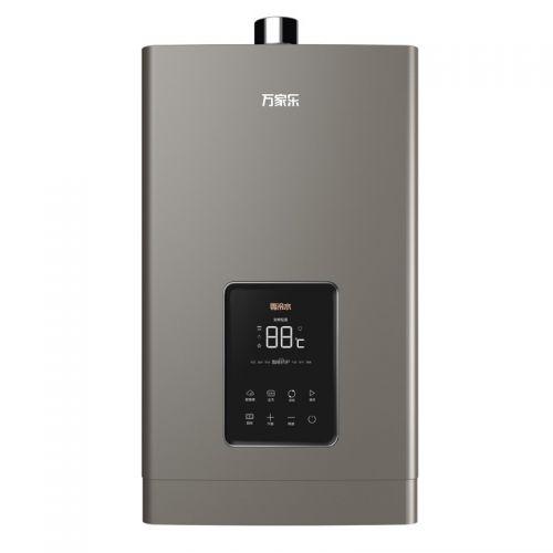 万家乐 16L 强排式天然气热水器 JSQ30-16Z6(咖啡金)
