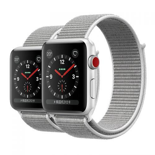 【预订】Apple Watch S3 智能手表(38mm GPS+蜂窝网络版)