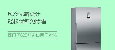 西门子 629升 进口两门冰箱KG86NAI40C