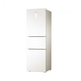 *$惠而浦(Whirlpool)253升 智能温控 三门冰箱BCD-253WTGEW (波尔卡金)