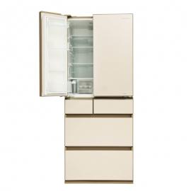 产地日本 进口松下(Panasonic)587升 六门冰箱 NR-F610VG-N5(琉璃金)