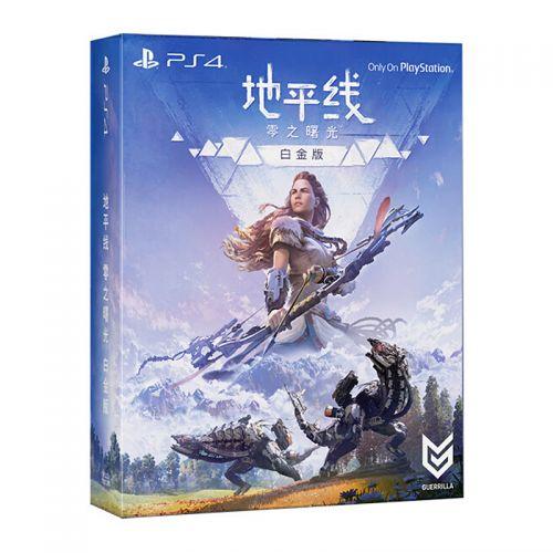 索尼(SONY)地平线 零之曙光(白金版)PS4游戏光盘 PCCS-75003M-10