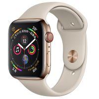 Apple Watch S4 44mm GPS+蜂窝版 MTX42CH/A (金色不锈钢+岩石色)