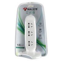 公牛(BULL) 六位双USB立式插座1.8米 GN-V106U(灰白)