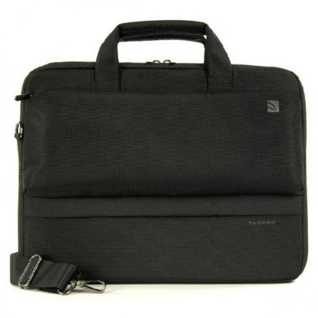 托卡诺(Tucano)DRITTA系列 15.6英寸单肩手提电脑包 BDR15  (黑色)【特价商品,非质量问题不退不换,售完即止】【清仓折扣】