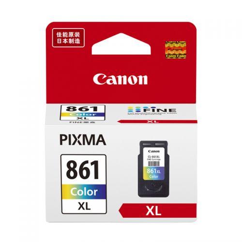 佳能(Canon)原装墨盒 CL-861XL 彩色(适用机型TS5380)