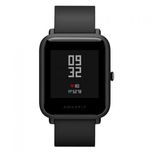 华米(Amazfit)米动手表青春版Lite 智能运动支付手表(黑色)