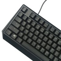 樱桃(Cherry)MX Board 1.0 TKL有线游戏机械键盘 红轴键盘 G803811LYAEU-2(黑色)