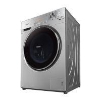 松下(Panasonic)10公斤一级能效滚筒洗衣机 XQG100-E1558(银色)