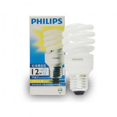 飞利浦(Philips)12W大头暖光标准螺旋节能灯