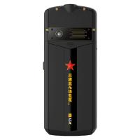 【新品】AGM M5 攀登版 移动联通电信4G3G2G 微信触屏按键 双卡双待  全网通4G 老人智能手机(黑金)