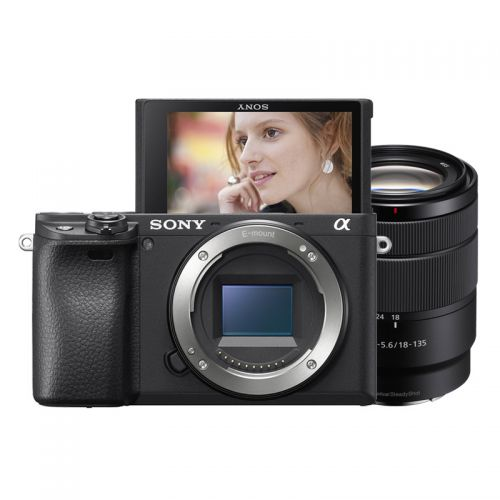【预订】产地泰国 进口索尼(SONY)ILCE-6400M 微单相机套装(SEL18135镜头)黑色